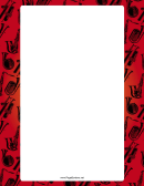 Red Band Instruments Border