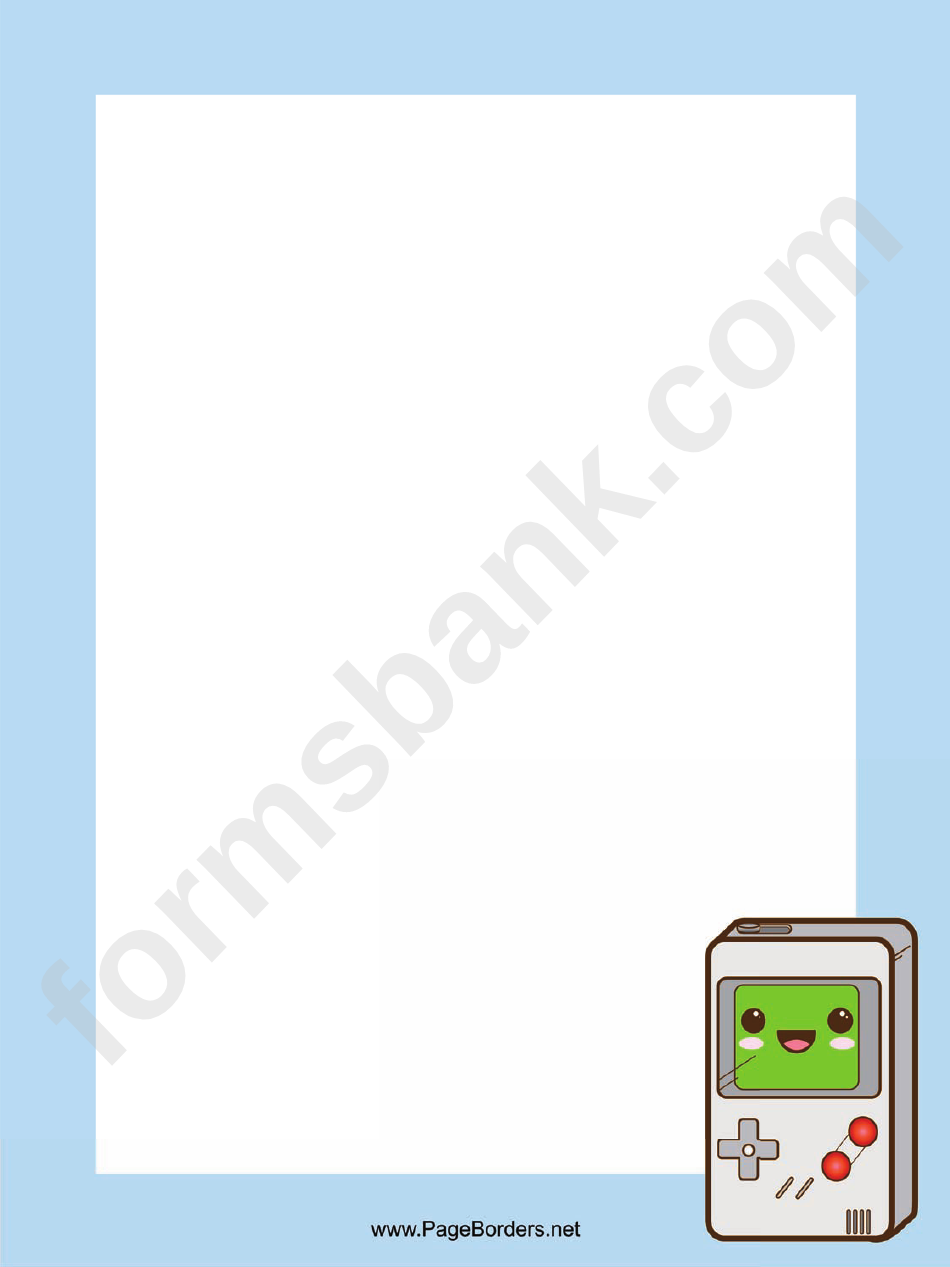 Gameboy Border