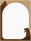 Happy Dog Border