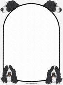 Spaniel Dog Border