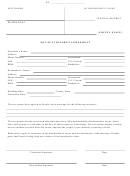 No Fault Divorce Agreement Template