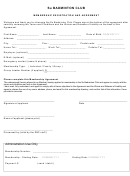 Membership Registration And Agreement