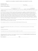 Youth Trip Release Form - Church Of The Nativity