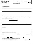 National College Credit Recommendation Service (nccrs) Application Form