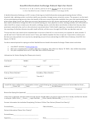Health Information Exchange Patient Opt Out Form