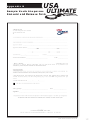 Appendix D Sample Youth Chaperone Consent And Release Form