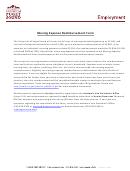 Moving Expense Reimbursement Form