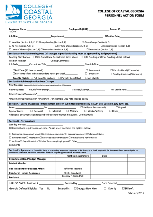Top 6 Georgia New Hire Reporting Form Templates free to download ...