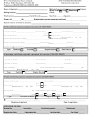 Marriage Application Form For Service