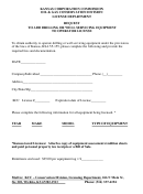 Request To Add Drilling Or Well Servicing Equipment To Operator License