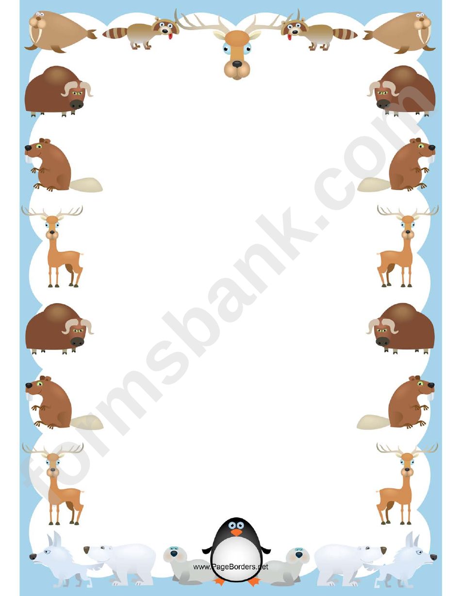 Animals Border