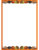 Bug Page Border Template