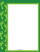 Green Footprint Border