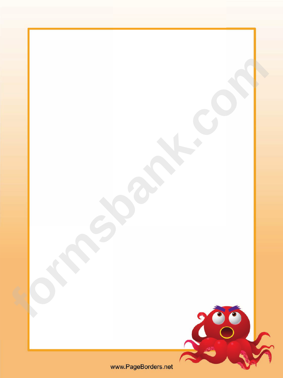 Angry Octopus Border