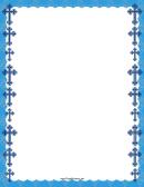 Christian Blue Cross Border