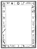Alchemy Zodiac Border