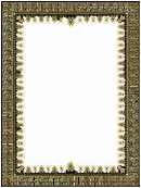 Gold And Black Border