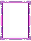Pink Flowpoint Border