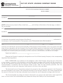 Form Mv-373 - Out Of State Leasing Company Bond