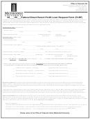 Federal Direct Parent Plus Loan Request Form