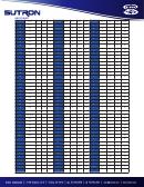 Ascii Conversions & Calculations Chart