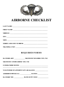 Da Form 4187 - Personnel Action (with Airborne Volunteer Statement)