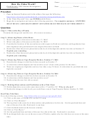 How Do Tides Work - Earth Science Lab Worksheet