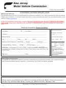 Form Mv-4 - Government Records Request Form