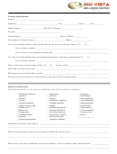 Massage Therapy Client Health Intake Form