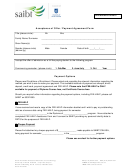 Acceptance Of Offer / Payment Agreement Form Payment Options