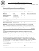 Travel Consent/health Form With Medication Addendum To Travel Consent/health Form