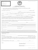 Candidate Affidavit