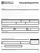 Transcript Request Form Students - University Of Saskatchewan