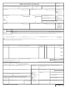 Dd Form 1155 - Order For Supplies Or Services