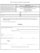 Land Sales: Annual Encumbrance Report - A - Affidavit