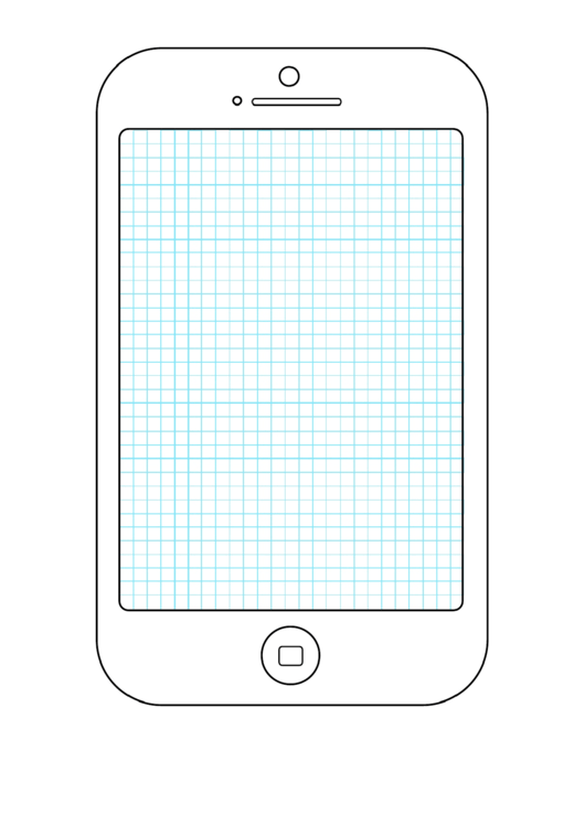 Smartphone Grid Wireframe Drawing Grid Template Printable pdf