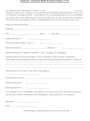 Medical Treatment Authorization Form - Neptune Township