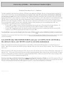 International Student Transfer Recommendation Form (f-1 Status)