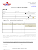 Dependent Care Account Claim Form