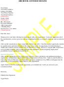 Job Offer- Letter Of Decline