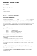 University Of Aberdeen Supply Contract