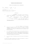 Template Subordination Agreement