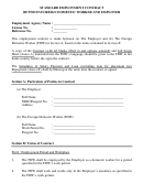 Standard Employment Contract Between Foreign Domestic Worker And Employer