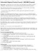 Adirondack Regional Tourism Council - Seo/smo Proposal