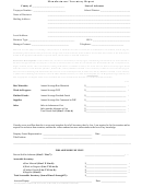 Manufacturers' Inventory Report Template