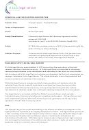 St Kilda Principal Lawyer Position Description