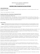 Michigan Civil Service Commission Job Specification Corrections Transportation Officer
