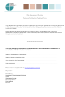 Risk Assessment Provider - Customer Satisfaction Feedback Form