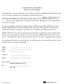 Commission Agreement Form For Sale By Owner