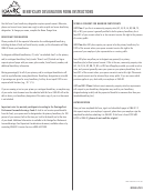 Beneficiary Designation Form Instructions